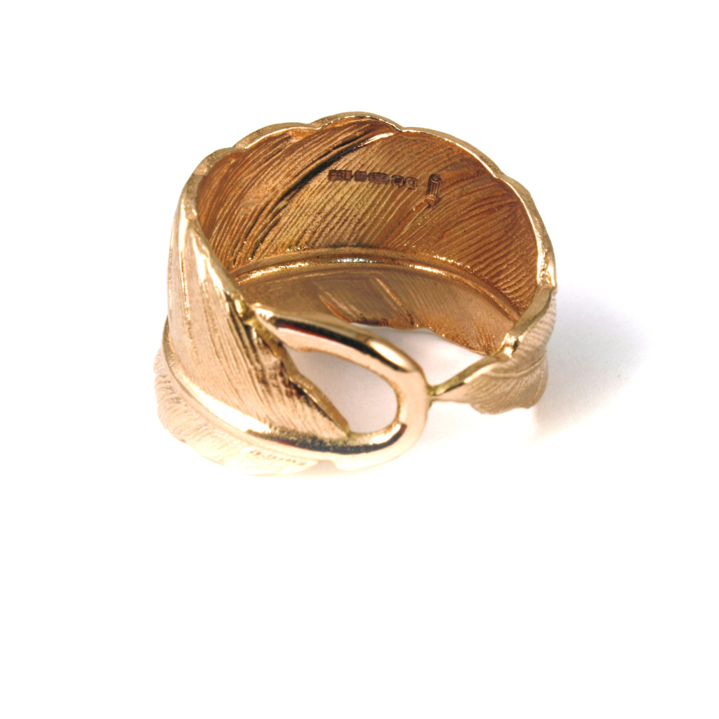 9ct_gold_feather_ring_hallmarked