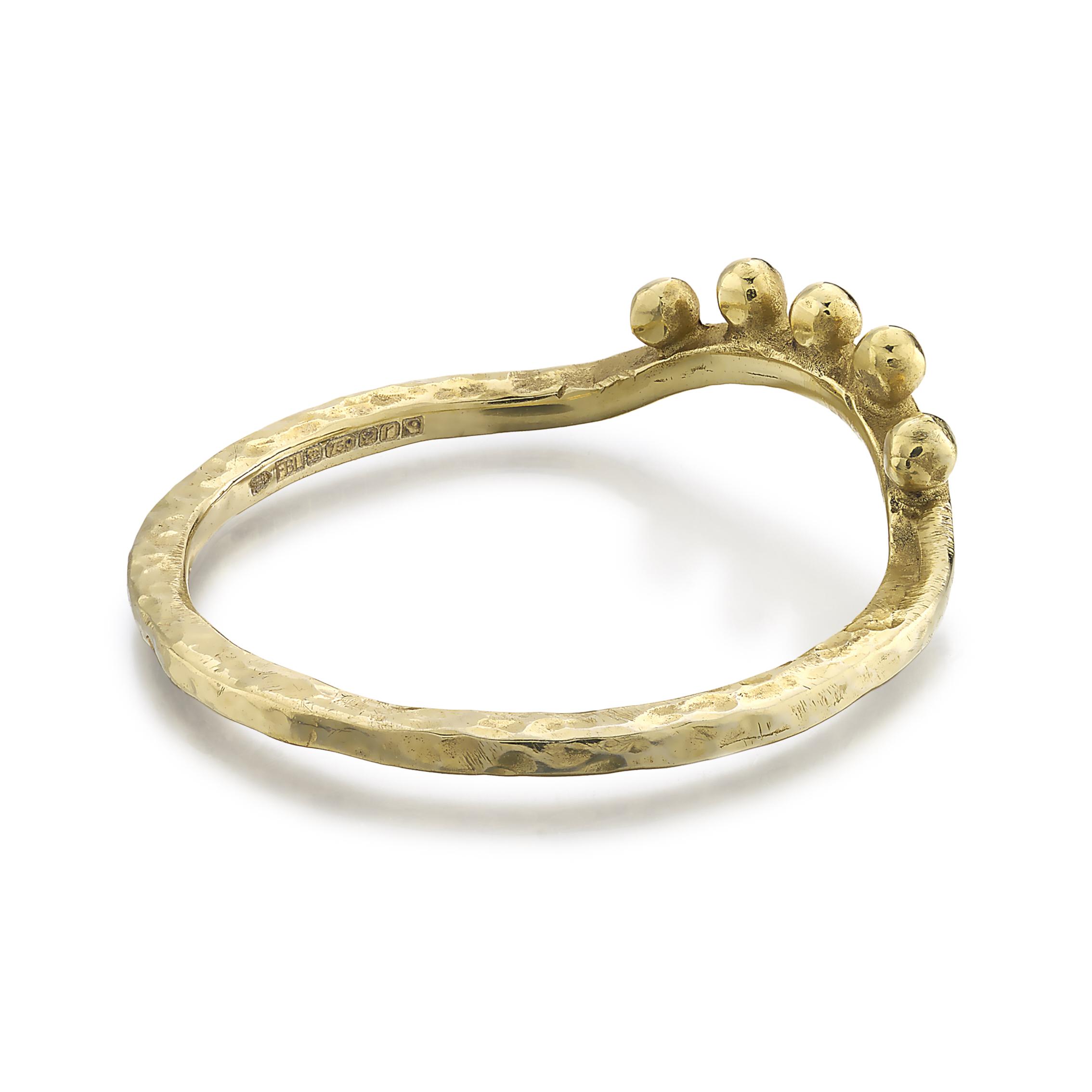hammered_gold_curved_ring_bobbles_bk